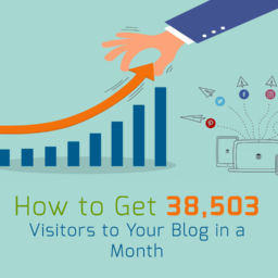 How to Get 38,503 Visitors to Your Blog in a Month